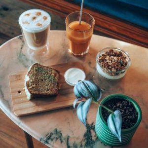 Goûter équilibres café