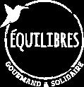 Logo blanc - Equilibres Café